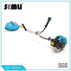 Baixo preço grossista China 52cc a gasolina Grass Eater Cortador de escova com lâmina de metal e nylon da Cabeça de Corte