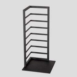 Bureau de conception Customzied mode affichage de décoration Étagère en métal