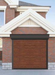 Aislamiento térmico deslizante comercial motorizado Manual de Seguridad Residencial puerta de garaje seccionales de acero de color