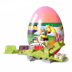 قالب محدّد بلاستيكيّة حيوانيّ مفاجأة بيضة لعبة تربويّ, قالب تعليب