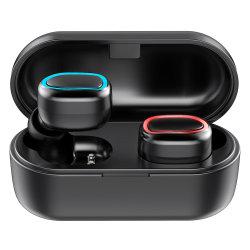 2000mAh capacité 5.0 vrai sans fil mini stéréo de TWS Sports oreillettes Bluetooth Casque d'affaires Casque Écouteurs intra-auriculaires HD qualité sonore avec boîte de chargement
