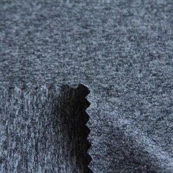 スパンデックスのニットの木炭高温リアクター混合物の綿が付いている高い伸張Ntナイロンかポリエステルは上のためのジャージー単一のファブリックをか下着またはスポーツ・ウェア好む