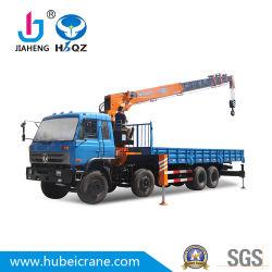 HBQZ는 유압 망원경 트럭을 드는 SQ16S5가 기중기를 거치한 6 톤 트럭 RC 기중기 도와 절단기 단철 유압 펌프를 중국제 픽업한다