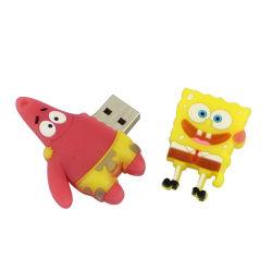 Personagem do filme Flash de desenhos animados para crianças Flashdisk Fantasia brinde 1 GB 2 GB 4 GB 8 GB de 32GB, 64GB