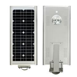 15W ha integrato tutti in un indicatore luminoso di via solare esterno del giardino del sensore di movimento
