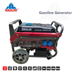 Бензиновый 3.5kw 90 электрический и ручной запуск Air-Cooled одного переменного тока и три фазы и портативные бензиновые генератор с комплектом колес