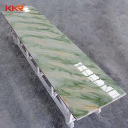 Superfície sólida Folha translúcido superfícies Corian Pedra de superfície sólida de acrílico