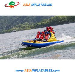 Usine Water Splash jeu Crazy gonflable UFO, l'eau canapé Flying Tube de ski
