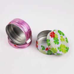 Klein Leeg Aluminium Cosmetic Skin Care Cream Jar