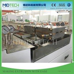 Plastik-UPVC/PVC Rollen-Blendenverschluss-Latte-Profil und automatischer lochender Strangpresßling-Produktionszweig