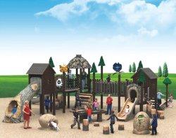 遊園地装置のトレインの主題は屋外の運動場項目をからかう
