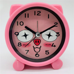 昇進のギフトの子供のための小型漫画表の目覚し時計