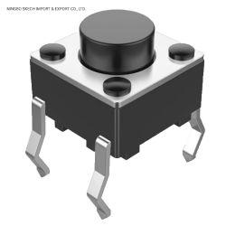 Tact 스위치 6X6mm PCB 표면 실장 마이크로 ON-OFF 스위치 수직 CE 승인 푸시 버튼 스위치