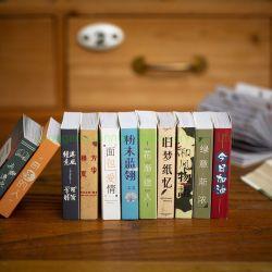 Wochenenden-Buch-Speicher-Entwurfs-Miniaufkleber-Buch-anhaftende Papierauflagen