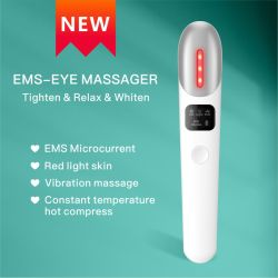 Massager tenuto in mano dell'occhio di vibrazione della luce rossa SME di bellezza