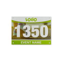Numeri correnti della busbana francese di maratona per le corse