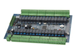 لوحة مرحل RS485 لنظام قفل الخزانة/وحدة التحكم في الوصول الخاصة بالنظام الإلكتروني نظام القفل / الدخول بدون مفتاح للخزانة