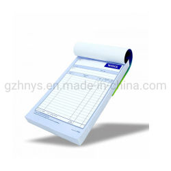 Checklist voor het ontvangen van papieren facturen op A4-formaat voor zelfkopiërend papier Boek Waiter Pad for Restaurant