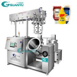 A homogeneização de vácuo Máquina Emulsificador fazer maionese Ketchup de dispositivo fazendo a máquina