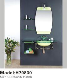 Undermount rectangular lavabo/baño/vanidad de la cuenca del lavabo de cristal (TH70830)