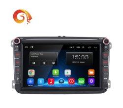 Voiture Lecteur de DVD vidéo audio stéréo de voiture pour VW au système GPS intégré combinaison et le placement de planche de bord