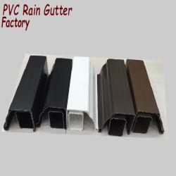 كينيا بيع ساخنة مواد البلاستيك السقف آلة قطع المطر، نظام الصرف عالية الجودة على السطح باللون الأبيض البني باللون الرمادي البني الداكن آلة قطع المطر
