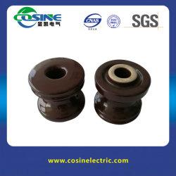ANSI 53-4の陶磁器の手錠のタイプ絶縁体のスプールの絶縁体
