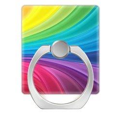 Kundenspezifischer Umdrehungs-Telefon-Griff-Handy-Halter-Acrylring-Handy-Standplatz des Firmenzeichen-360