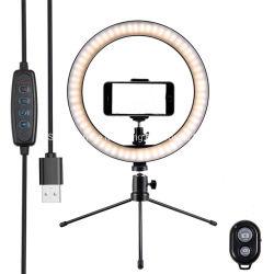 "Tiktok Dimmable Vlog/살아있는 스트림을%s 최신 판매 4 "" 6 "" 8 "" 10 "" 12 "" 14 "" 다채로운 LED 반지 빛은 위로/아름다움/Selfie 빛 만든다"