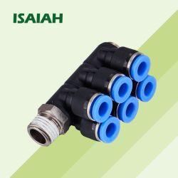 Cinese tipo di produttore pneumatico Vendita a caldo componente One Touch Air Raccordo pneumatico tubo
