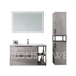 Mármore natural armário de banheiro melamina MFC banho clássico conjunto de cortesia