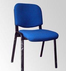 Visiteur populaire Président Président étudiant chaise de bureau Mobilier de bureau de vente chaude bâti en métal empilable chaise de bureau ergonomique (FEC501)