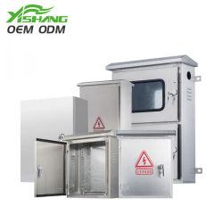 防水およびRainproofステンレス鋼電気機構の金属のキャビネットの電源制御装置の配電箱