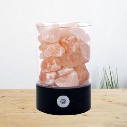 ヒマラヤ塩ランプ、ヒマラヤ塩の解毒ランプ、塩化ナトリウムのDetoxerヒマラヤ水晶自然なランプ