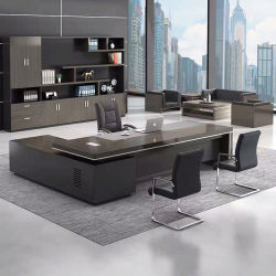 Роскошный современный Фошань Custom конторской мебели последние конструкции стола генеральный директор таблица