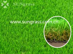Nouveau tapis de gazon artificiel d'aménagement paysager pour jardin et de la maison (SUNQ-AL00104)