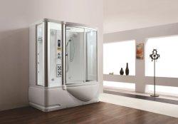 Sauna di lusso del vapore della doccia della vasca di massaggio di Monalisa doppia (M-8250)