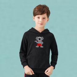 سترة راجلان للأطفال ذات المقاس الأوروبي المناسبة جيدًا مع شعار الكوالا
