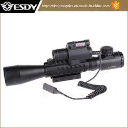 3-9X40e DOT Visor del airsoft con M6 Vista láser