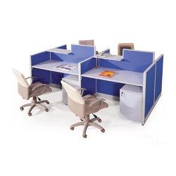 機能的なオフィスワークステーション設計オフィスデスクキャビネットパーティションの使用 (SZ - WST654)