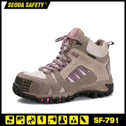 Meilleur femme confortables chaussures de sécurité/chaussures de sécurité/chaussures de travail Semelle en caoutchouc