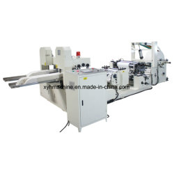 Farben-Drucken-Serviette-Serviette-Hochgeschwindigkeitsseidenpapier der Serviette-Maschinen-230*230 automatisches gefaltet, Maschine herstellend