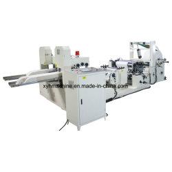 Serviette-Maschinen-Seidenpapier gefaltet, Maschine 230*230 automatische Farben-Drucken-Serviette-Hochgeschwindigkeitsserviette bildend