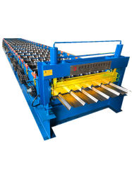 Feuille de toiture Dixin 1000 machine à profiler Nigéria automatique