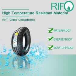 反化学腐食、車のタイヤのための耐熱金属のラベル