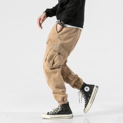 Hipster style coton sergé Fashion Les amateurs de jogging pantalon cargo Knickers