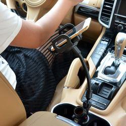 Universal Pad PDA téléphone mobile mp3/MP4 ALLUME-CIGARE de GPS double USB Phone Tablet Support voiture