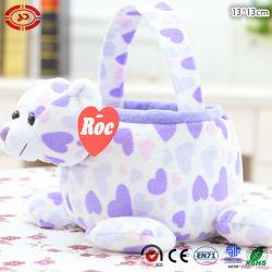 Cabeça de urso de pelúcia Soft recheadas Cesto de PVC MARCAÇÃO Toy