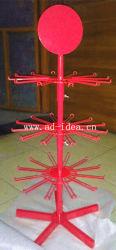 Weihnachtsgeschenk-Acryl-/Metallausstellung/Drehen/Regal/Assembing/Reihe-Zahnstangen-Standplatz der Bildschirmanzeige-3