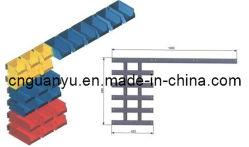 カスタム形(PK001、002、003、004、005)の収納用の箱が付いているプラスチック柵